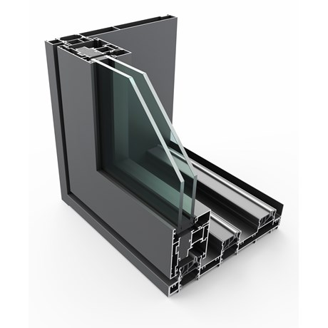 PURe® SLIDE Inline Slide Door System Single Track - XOO