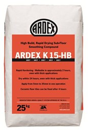 ARDEX K 15-HB Hi Build Smoothing Compound