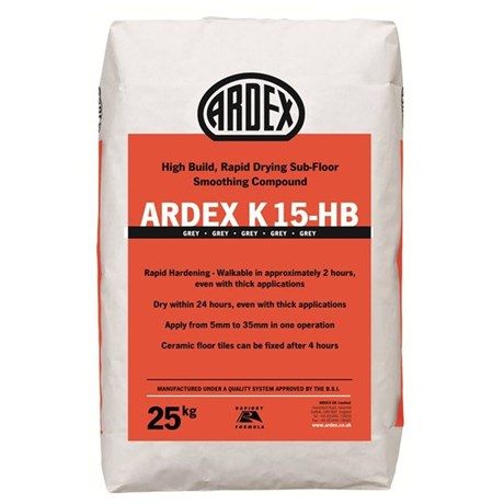 ARDEX K 15-HB Hi Build Smoothing Compound