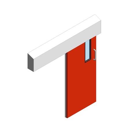 Hygienic Sliding GRP Fire Doors - 30 Min FR
