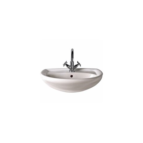 Galerie: Semi-recessed Basin - 500 X 425 - 1 Tap