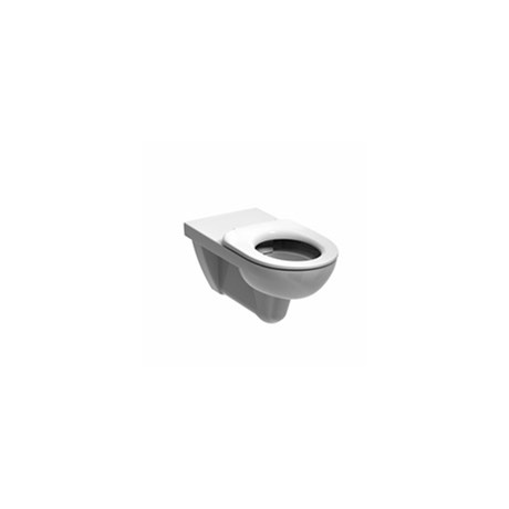 Sola Rimless Wall Hung Toilet Pan Seat & Cover - WC suite