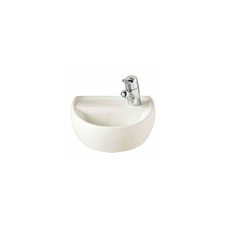 Sola Medical Washbasin 400 x 345, 1 Tap RH - Wall hung wash basins