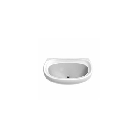 Sola Spectrum 500 x 410 mm Washbasin No Tap Back Outlet -Wall hung wash basin