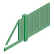 Slidemaster SR3 Single - Carbon steel gate