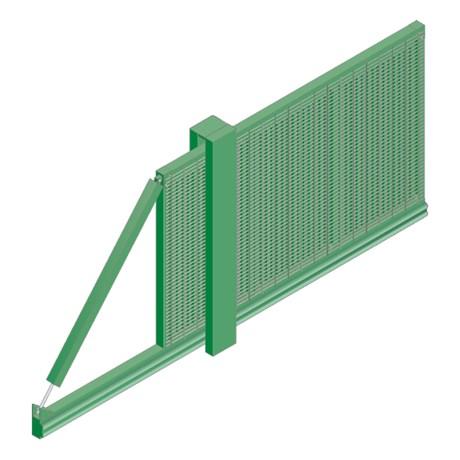 Slidemaster SR3 Single - Carbon steel gate