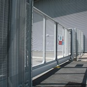 Slidemaster – With infill options for systems above double - Carbon steel gate