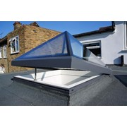 The Opening Pyramid-Lantern Skylight - Electric