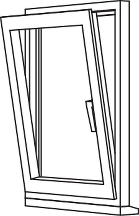 Zendow 5000 Tilt & Turn (Standard Sash) - TT1 Single Opener