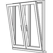 Zendow 5000 Tilt & Turn (Standard Sash) - TT3 Opener/Opener