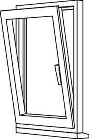 Zendow 5000 Tilt & Turn (Slim Sash) - TT1 Single Opener