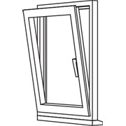 Zendow 5000 Tilt & Turn (Slim Sash) - TT1 Single Opener