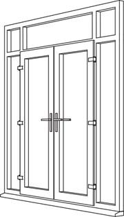 Zendow Neo French Door - F7 Open Out