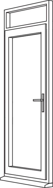 Zendow Neo Residential Door - R3 Open In