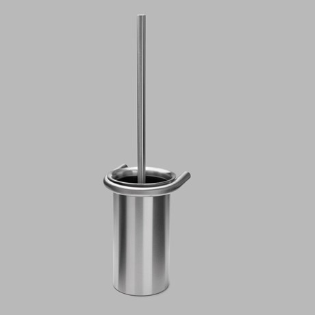 Toilet brush holder, Satin