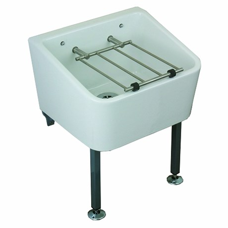 Cleaners Sink 465 x 400 mm Including Grating
