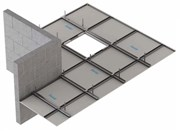 Fire Protection to Timber Floor Construction: Knauf C-Form-Soffit Lining CF6/13