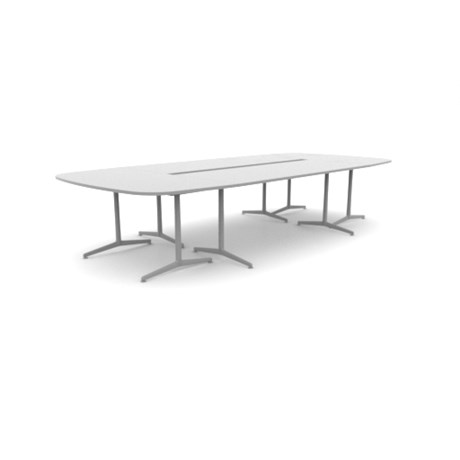 Ad-lib Tables UK - Soft Rectangle Conference - ALP3717RC