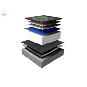 Wilotekt Plus® Structural Waterproofing System - Green roof