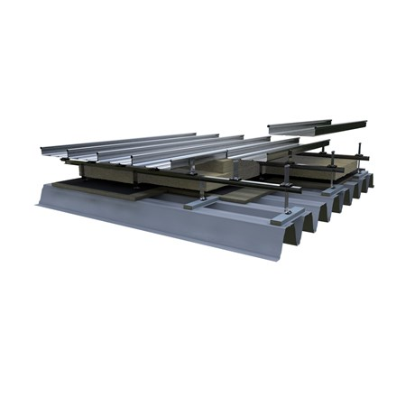 Structural Deck with Bar and Bracket
