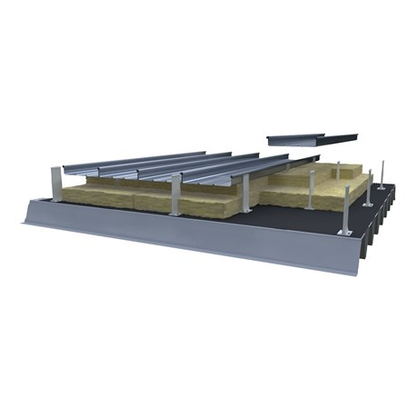 Structural Deck with GFK Thermal Halter
