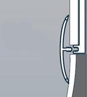 H Trim - Cover strip