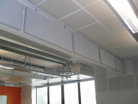 SuperPhon™ Suspended Absorbers - Baffle Vertical