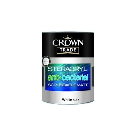 Steracryl Anti Bacterial Scrubbable Matt