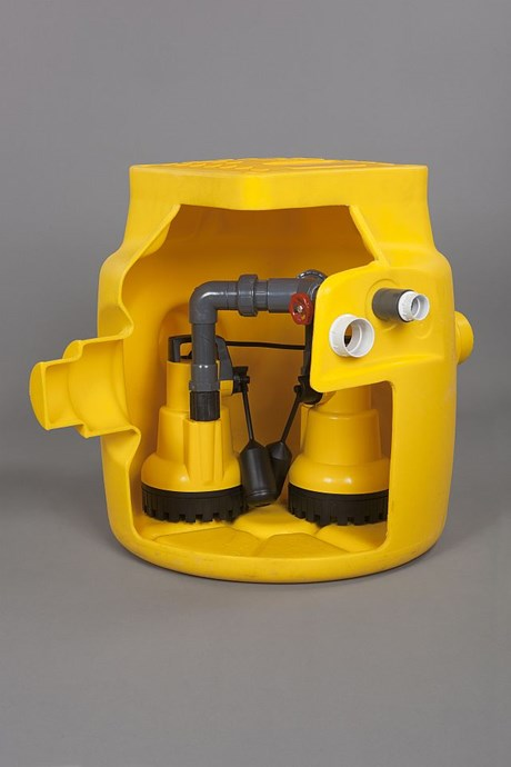 Dual V3 Sump - Pump station