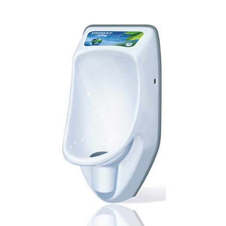 Urimat Compactinfo Waterless Urinal c/w Hydrostatic Siphon