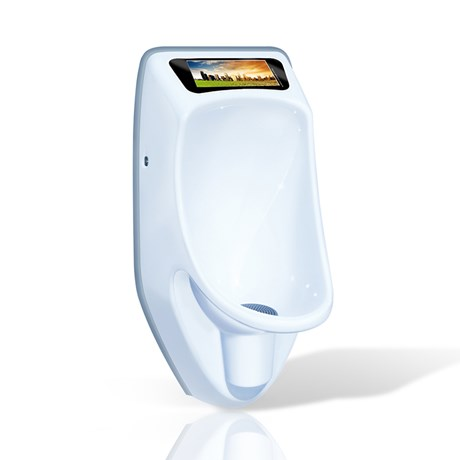 Urimat Compactvideo Waterless Urinal c/w Hydrostatic Siphon