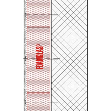 2.2.1 - Facade - Foamglas Insulation With Thick Coat Render