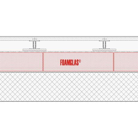 3.1.8 - Floor Internal - Concrete - Foamglas Insulation To Suit Raised Access Floor
