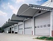 Sectional Door SPU F42 Wicket Door - Compound Glazing Track Type HU