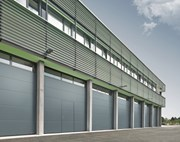 Sectional Door SPU F42 Wicket Door-Glazing Frames Track TypeVU