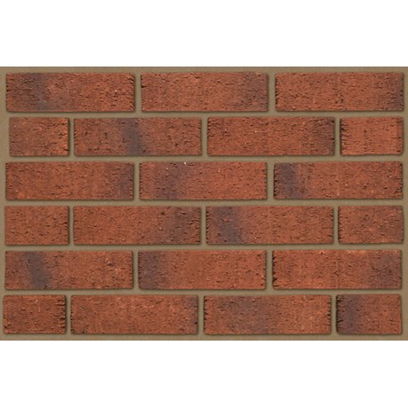 Anglian Red Multi Rustic - Clay bricks
