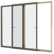VELFAC 237 Double Glazed Sliding Casement Door