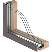 VELFAC 200 ENERGY Triple Glazed Window Unit