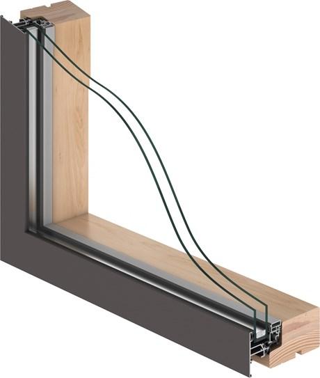VELFAC 200 Double Glazed Window Unit