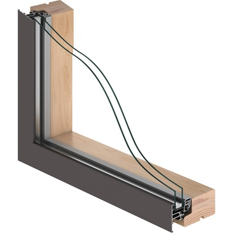 VELFAC 200 Double Glazed Window Unit
