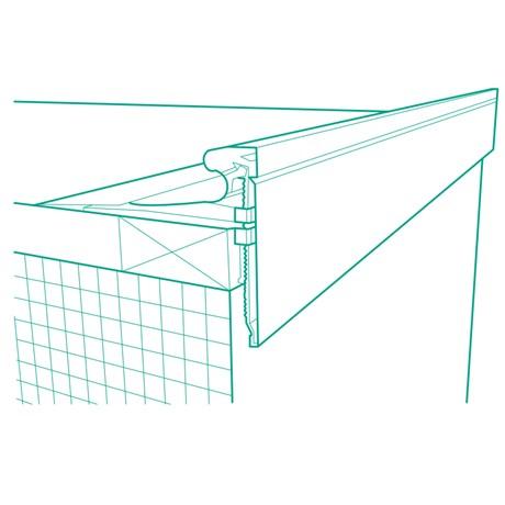 TA Fascia Profile - Roofing membrane trims