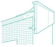 TAG Fascia Profile - Roofing membrane trims