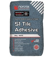 Rapid Porcelin White S1 Tile Adhesive