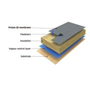 Protan SE PVC Single-Ply Roof Waterproofing Membrane