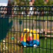Roll Top + Bekafix- Metal mesh fence panel