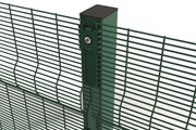 Securifor 3D + Bolt Spider Fixators - Metal mesh fence panel