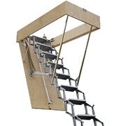 ZIP 8 Retractable Ladder with Trap Door