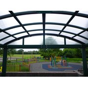 Free Standing Barrel Vault - Single Truss Frame