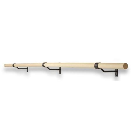 Wall-mounted Single Ballet Barre Bracket