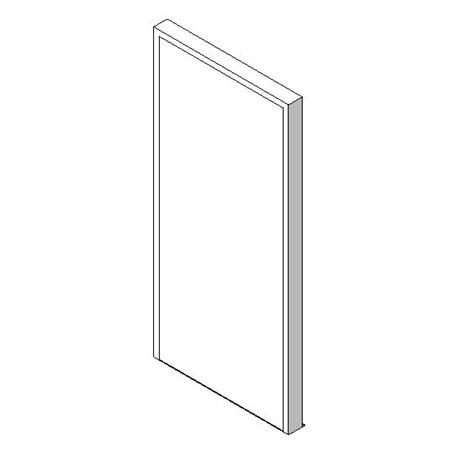 External Single Door, Blank Leaf